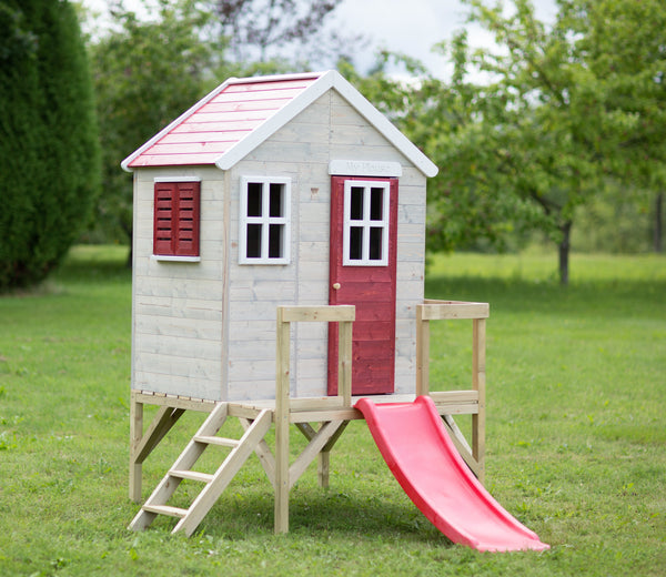 Wendi Toys Modular Playhouse M26 My Garden House Red