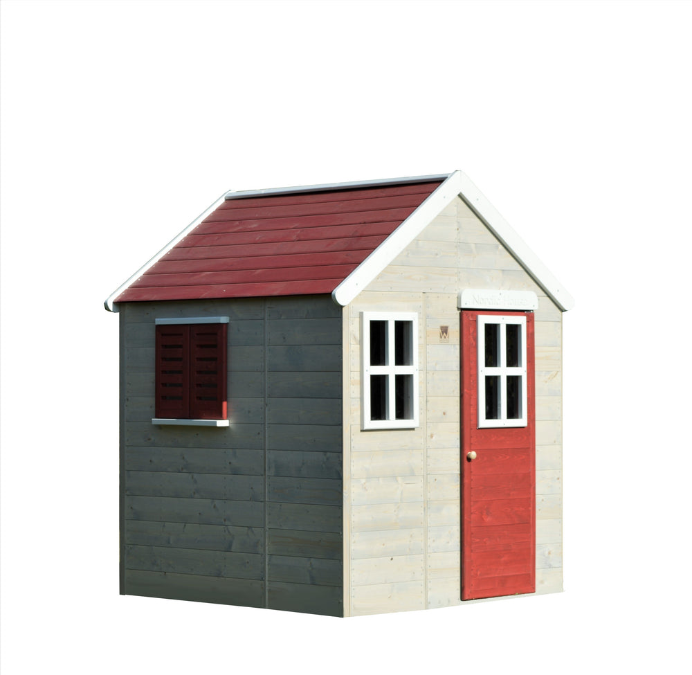 Wendi Toys Modular Playhouse M18 My Lodge Red