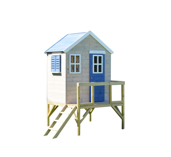 Wendi Toys Modular Playhouse M25 My Garden House Blue