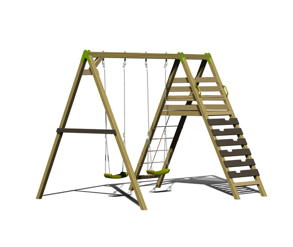Wendi Toys Classic Series Swing Set S7