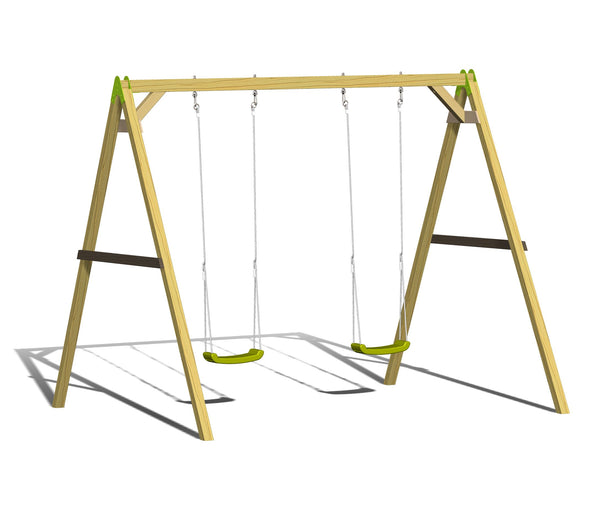 Wendi Toys Classic Series Swing Set S5
