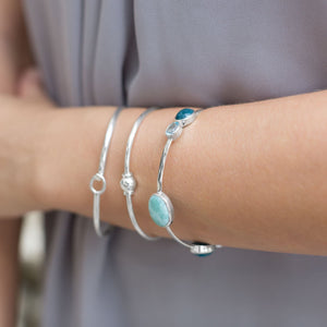 Multistone Stackable Bangle