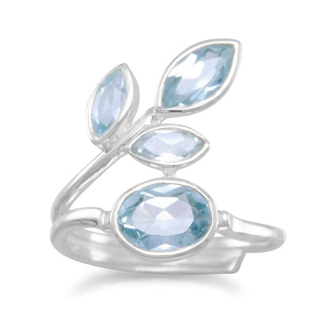 Multishape Blue Topaz Ring - Rocky Mt. Outlet Inc - Shop & Save 24/7