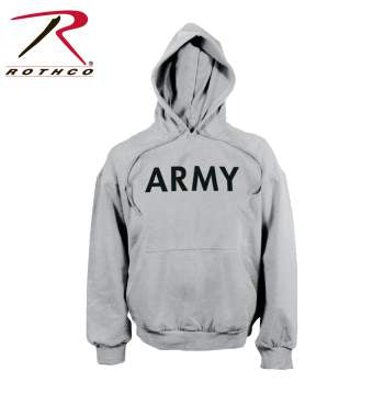 Rothco Army PT Pullover Hooded Sweatshirt