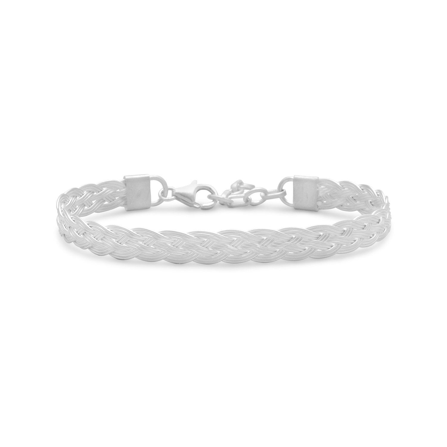"Simple 6.5""+1"" Braided Bracelet - Rocky Mt. Outlet Inc - Shop & Save 24/7"