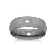 Polished Titanium Ring - Rocky Mt. Outlet Inc - Shop & Save 24/7
