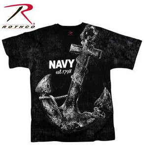 Rothco Vintage 'Navy Anchor' T-shirt