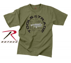 Rothco Vintage 'Tools Of The Trade' T-Shirt