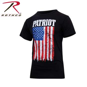 Rothco Patriot US Flag T-Shirt - Black