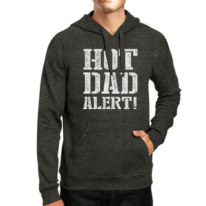 Hot Dad Alert Unisex Dark Gray Pullover Hoodie - Rocky Mt. Outlet Inc - Shop & Save 24/7