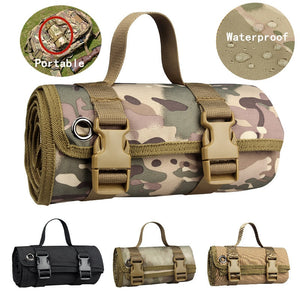 Field Shooting Training Non-slip Mat Military Tactical Gear Outdoor Camping Picnic Mat Hunting Accessory Camo Waterproof Cushion