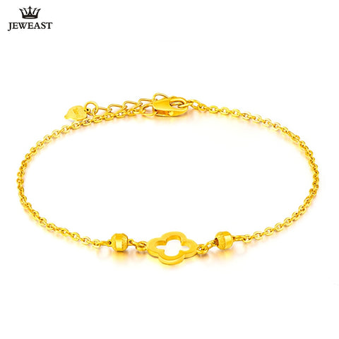 SFE 24K Real 999 Solid Gold Bracelet Fine Jewelry