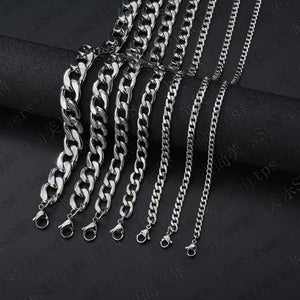 Stainless Steel Figaro Necklace