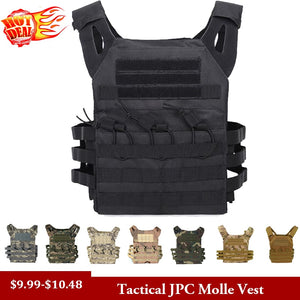 Hunting Tactical Body Armor JPC Molle Plate Carrier Vest Outdoor CS Game Paintball Airsoft Vest Military Equipment