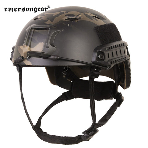 Emersongear FAST Helmet BJ TYPE for Military Tactical Hunting Sports Game Outdoor Paintball Daily Protect Cover Airsoft Gear