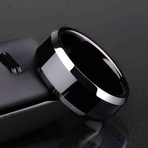 Titanium Black Men's Ring