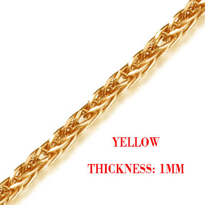 18k Pure Gold Rope  Chain - Rocky Mt. Outlet Inc - Shop & Save 24/7