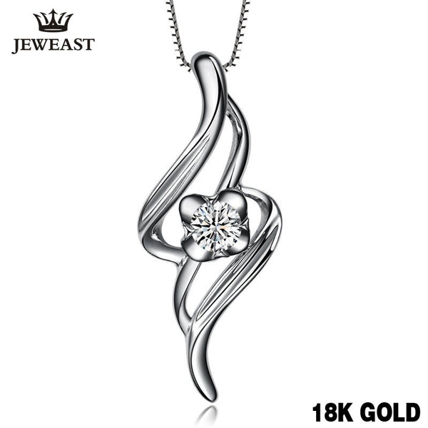 18K Gold Diamond Pendant - Rocky Mt. Outlet Inc - Shop & Save 24/7