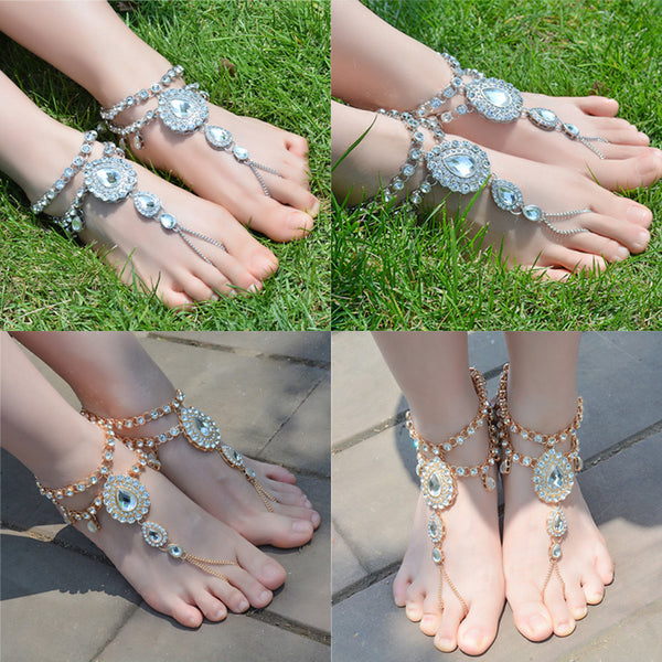 New Arrival Sexy Silver Anklet Chain Ankle Bracelet Foot Jewelry Barefoot Sandal - Rocky Mt. Outlet Inc - Shop & Save 24/7