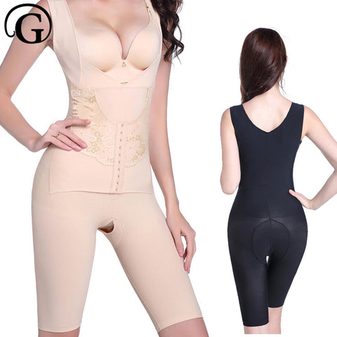 PRAYGER 50pcs Plus Size 4XL Women Magnetic Stone Healthy Body Shaper Hook Compression Tummy Shapewear Slimming thigh Bodysuits - Rocky Mt. Outlet Inc - Shop & Save 24/7