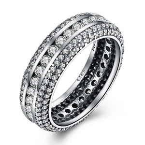 925 Sterling Silver Ring Retro Zr ring - Rocky Mt. Discount Outlet
