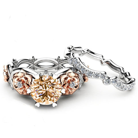 Women's Fashion Accessories Gift Jewelry Bride Anniversary Rings Set - Rocky Mt. Outlet Inc - Shop & Save 24/7