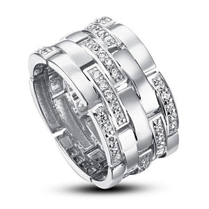 925 Sterling Silver 1 cm Band Wedding Anniversary Ring - Rocky Mt. Discount Outlet
