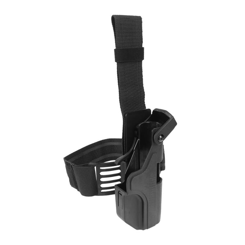 Outdoor Hunting Gun Bag Auto Loading Tactical Holster Leg Platform Thigh Pistol Holster for Air Force/Pistol/Rifle Activities - Rocky Mt. Outlet Inc - Shop & Save 24/7