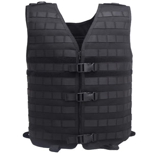 TAK YIYING Outdoor Men's Molle Tactical Vest Gear Load Carrier Vest Sport Safety Vest
