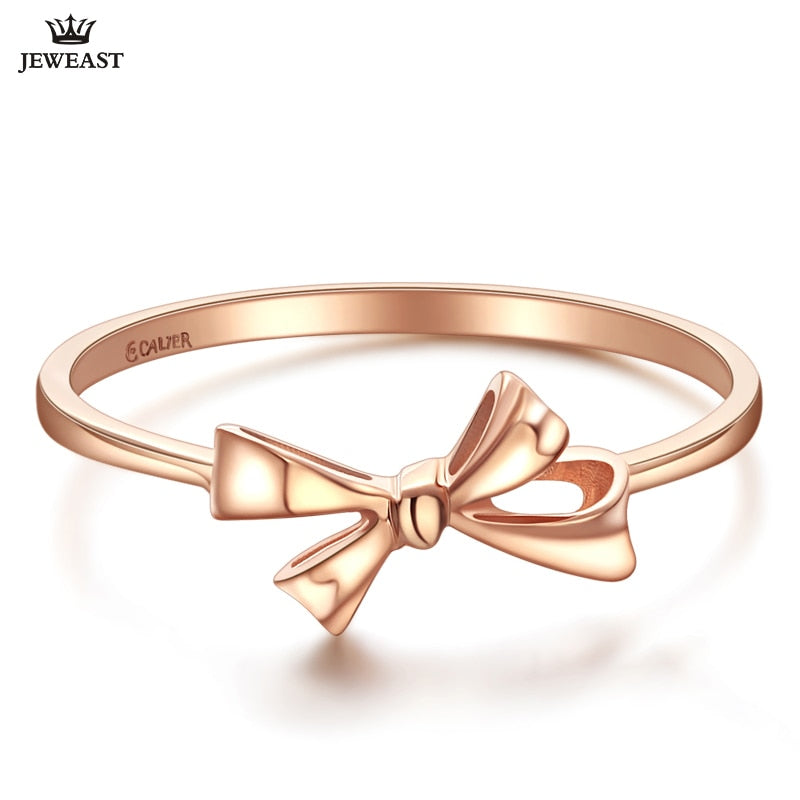 18K Gold Pure Gold Ring AU 750 Gold Solid Gold Rings Good Beautiful Upscale Trendy Classic Party Fine Jewelry Hot Sell New 2018