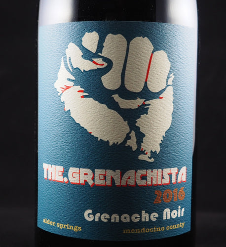 2016 The.Grenachista Alder Springs Vineyard Grenache Noir