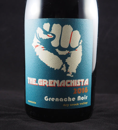 2016 The.Grenachista Dry Creek Valley Grenache Noir