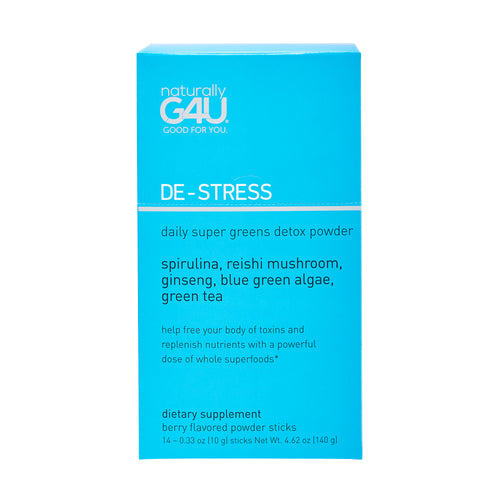 daily super greens detox powder stick packs (in box) supplement