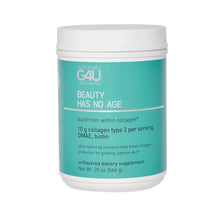 Load image into Gallery viewer, build from within collagen powder tub 20 oz supplement
