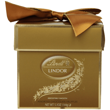 Lindt Lindor Truffles Assorted Token Gift Box