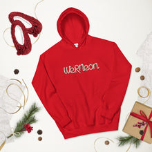 Load image into Gallery viewer, WeRNeon Candy Cane Hoodie