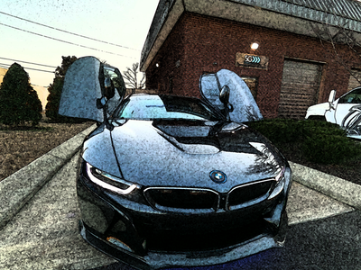 2014 BMW i8 Custom Stereo Upgrade