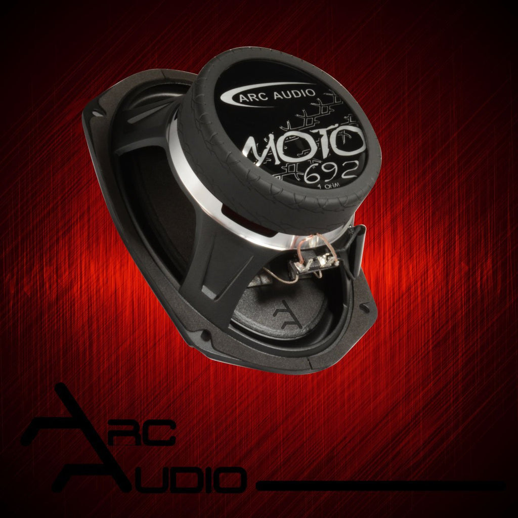 "Arc Audio MOTO Series 692 6x9"" Marine & Motorcycle Coaxial Speakers - Sounds Good Stereo Online"
