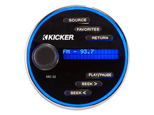 Load image into Gallery viewer, Kicker KRC15 Marine Two-Line Backlit Display Controller - Sounds Good Stereo Online