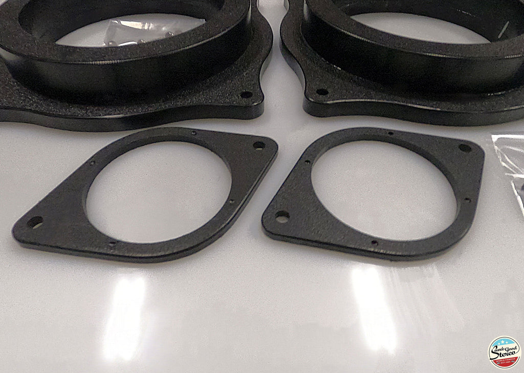 2014-2019 Lexus Custom Made Front Speaker Adapters (IS & RC Class) - Sounds Good Stereo Online