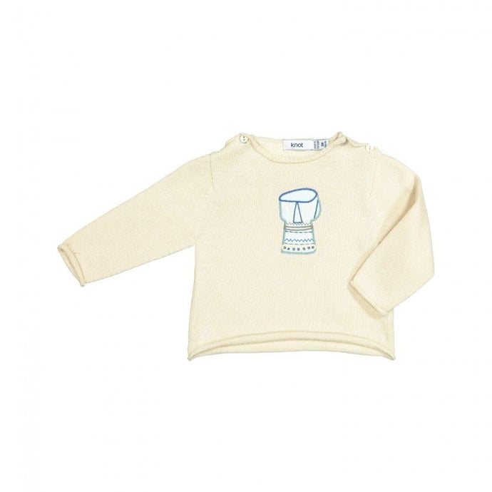 Tricot Drum Sweater
