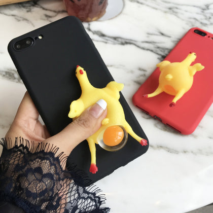 Squishy Squeeze Chicken Cover - Phone Dress