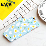 Cute Cartoon Fired Egg Case - Phone Dress