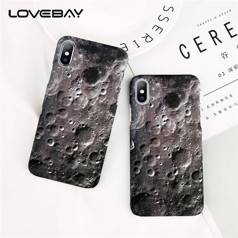 Moon Surface Crater Phone Case - Phone Dress