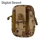 Outdoor Tactical Military Wallet Bag with Zipper for iPhone - Phone Dress