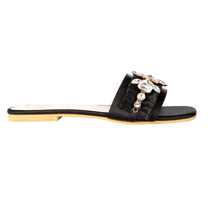 Black Tiffany Sandals