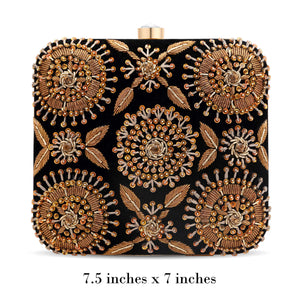 Black Amira Clutch