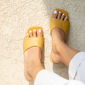 Soft Yellow Gigi Heels