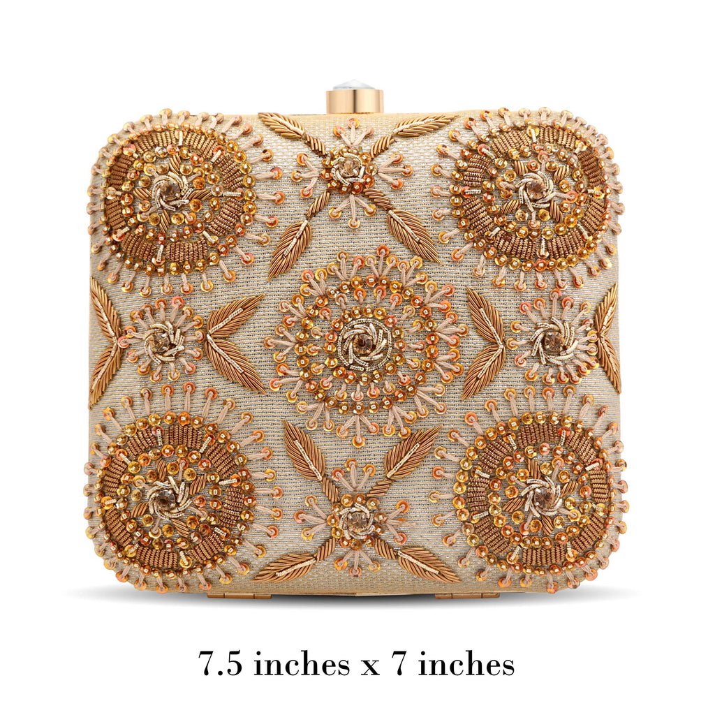 Gold Amira Clutch