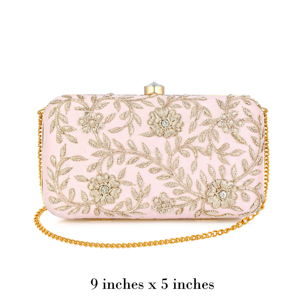 Light Pink Kyra Clutch